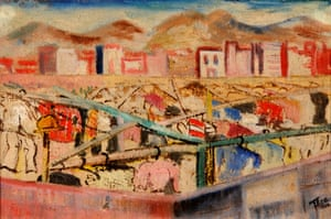 Landscape by Thea Haberfeld, which appears in The Art of Diplomacy.