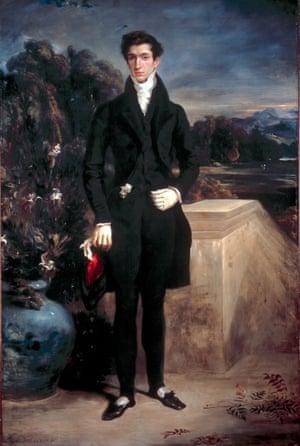 Louis-Auguste Schwiter by Delacroix