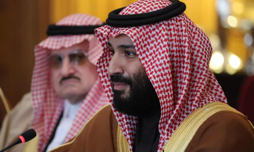 Crown prince Mohammed bin Salman: 'Saudi Arabia does not want to acquire any nuclear bomb, but without a doubt, if Iran developed a nuclear bomb, we will follow suit as soon as possible.'