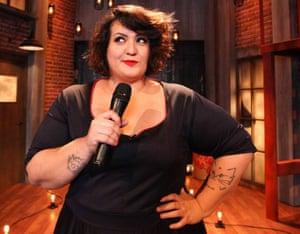Argentinian comedian María Virginia Godoy aka Señorita Bimbo