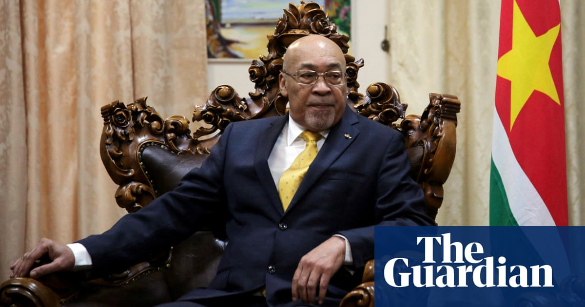 Suriname president guilty of murder over 1982 executions