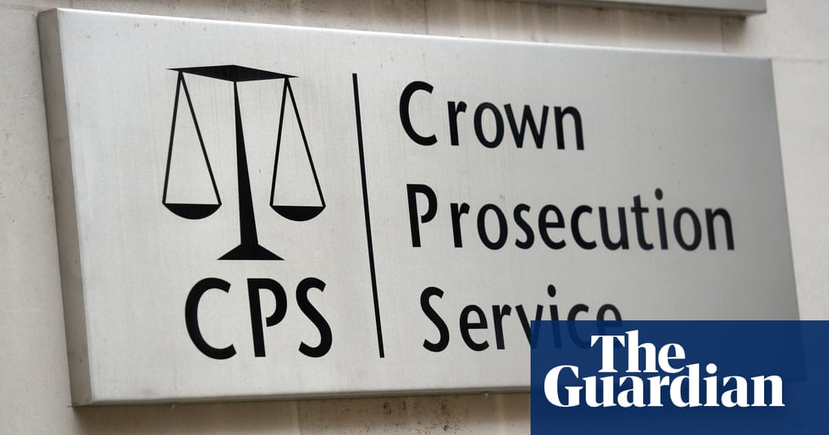 Rape prosecutions in England and Wales at lowest level in a decade