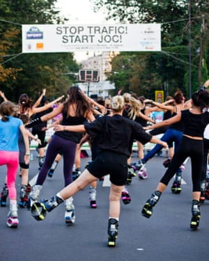 People exercising at Via Sport