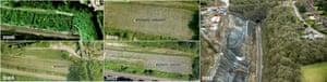 Harbury rail line landslip