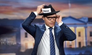 Trevor Noah hosts the live one-hour 'Democalypse' election night special on 8 November.