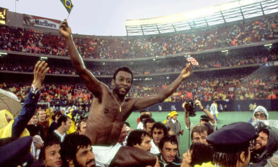 When Pele signed with the Cosmos, however, he was difficult to ignore.