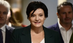 Jodi McKay was elected as the NSW Labor leader, winning 65% of the vote of party members.