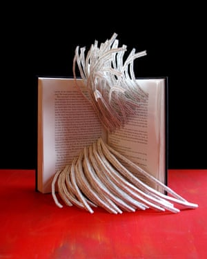 Publishing book sculpture by Stephen Doyle.