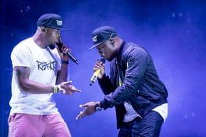 Dizzee Rascal plays the West Holts stage
