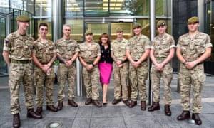 TV presenter Lorraine Kelly, representing Centrepoint