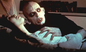 Isabelle Adjani and Klaus Kinski in Nosferatu the Vampyre.