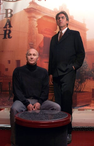 Grant McLennan and Robert Forster of the Go-Betweens