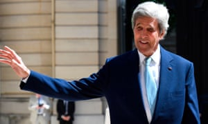 Biden's transition team said Kerry would 'fight climate change full-time'.