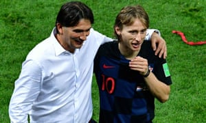 144d77e96 Croatia's coach Zlatko Dalic (left) and Luka Modric have been key  components of their
