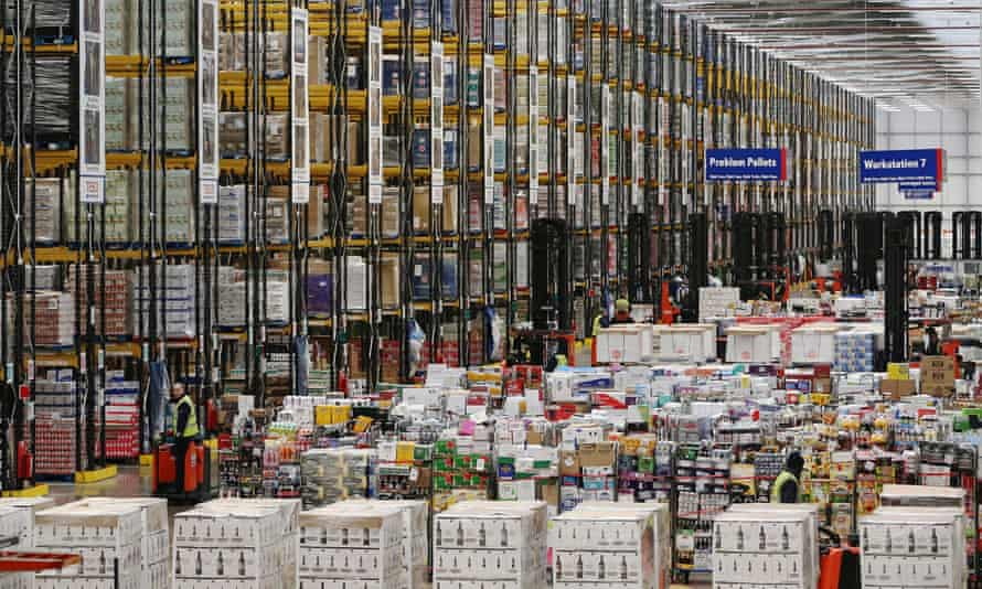 Supermarket warehouses are gearing up to sell to more than 10 million shoppers on 23 December.