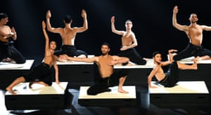 Sydney, Australia: Dancers perform during a photo-call