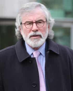 Former Sinn Féin leader Gerry Adams