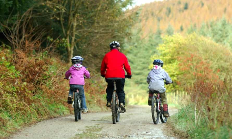 Dalby Forest bike trails, North Yorkshire
