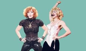 Mylène Farmer and Madonna