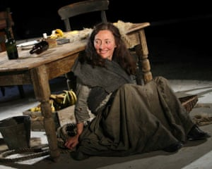 Bríd Brennan in Lizzie Nunnery's play Intemperance at the Everyman, Liverpool