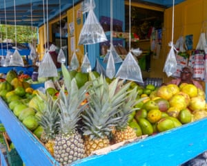 Fruit stall, St Vincent & the Grenadines