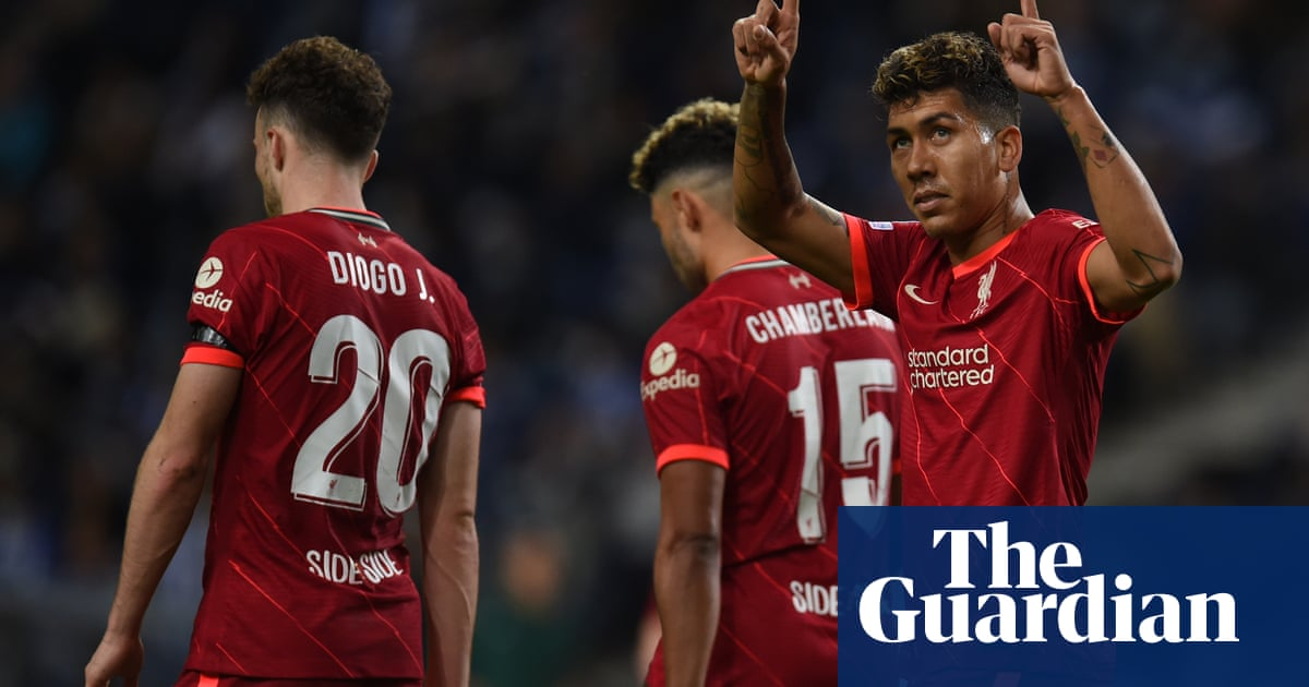 Mohamed Salah and Roberto Firmino double up as Liverpool crush Porto