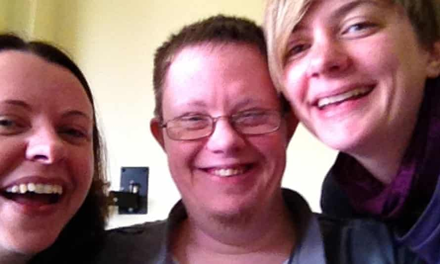 Richard Handley with sisters Emily and Lucy.