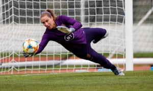 England's Karen Bardsley is playing in her third Women's World Cup.