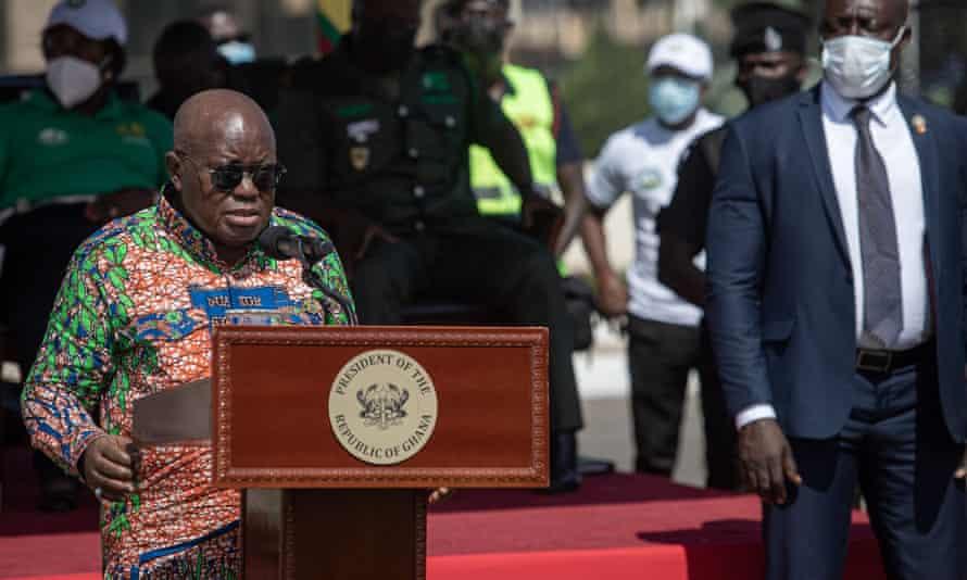 President of Ghana, Nana Akufo-Addo.