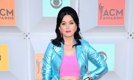 Katy Perry: making a habit of it