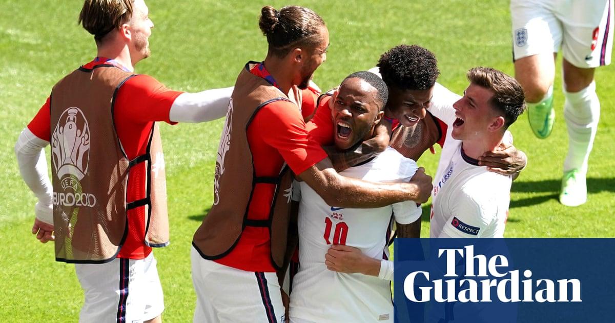 England up and running at Euro 2020 as Raheem Sterling's strike sinks Croatia