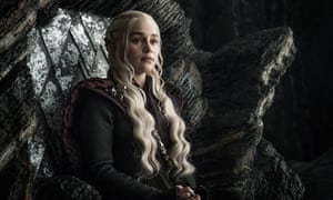 Caffeine queen? Emilia Clarke as Daenerys.