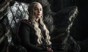 Still believes her own PR too much …Daenerys.
