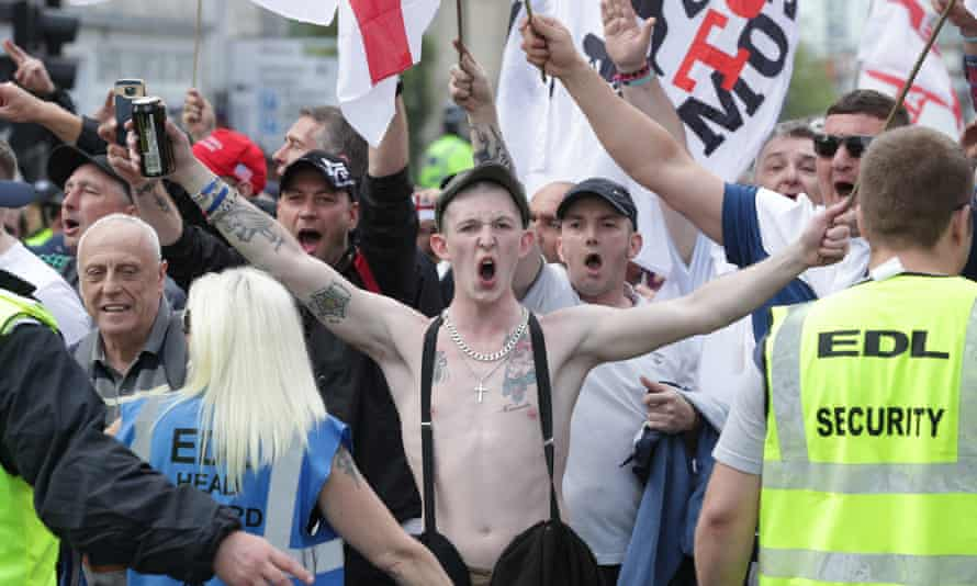 EDL protesters included members from Coventry and the North East.