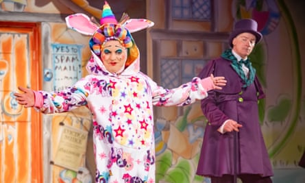Jack and the Beanstalk at the Oldham Coliseum Theatre