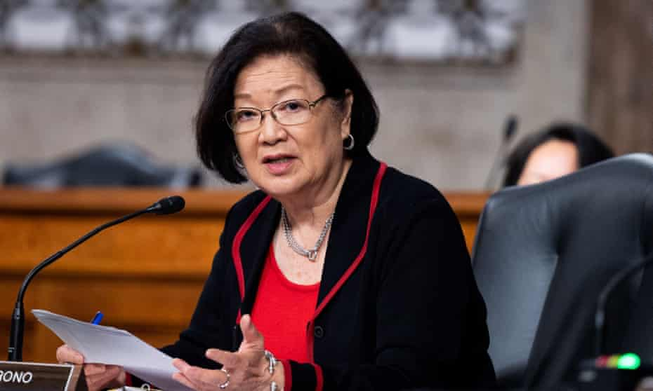 Senator Mazie Hirono: 'They're hoping we don't notice.'