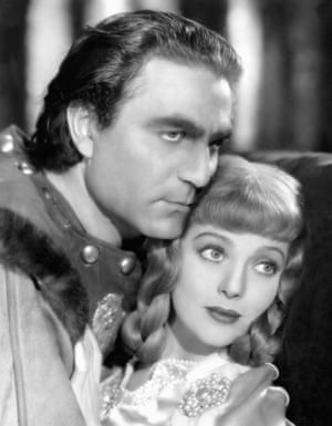 Wilcoxen with Loretta Young as Berengaria.
