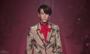 Gucci S/S 17 suit