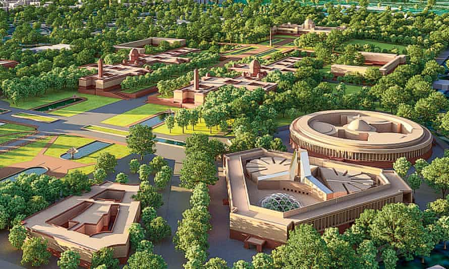Plans for a new parliament complex.