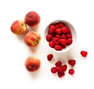 Despite its name, peach melba is as much about the raspberries as it is the peaches. Both are essential