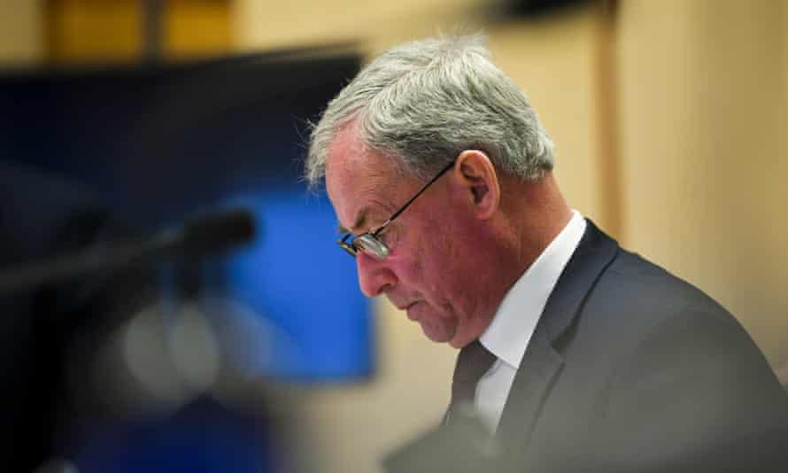 Australia's aged care minister Richard Colbeck