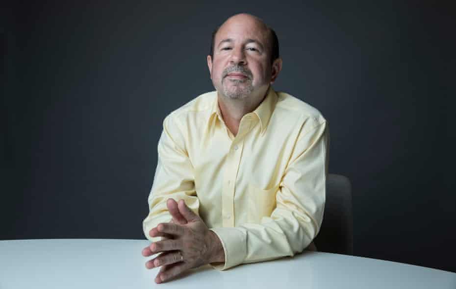 American climatologist Michael E Mann.