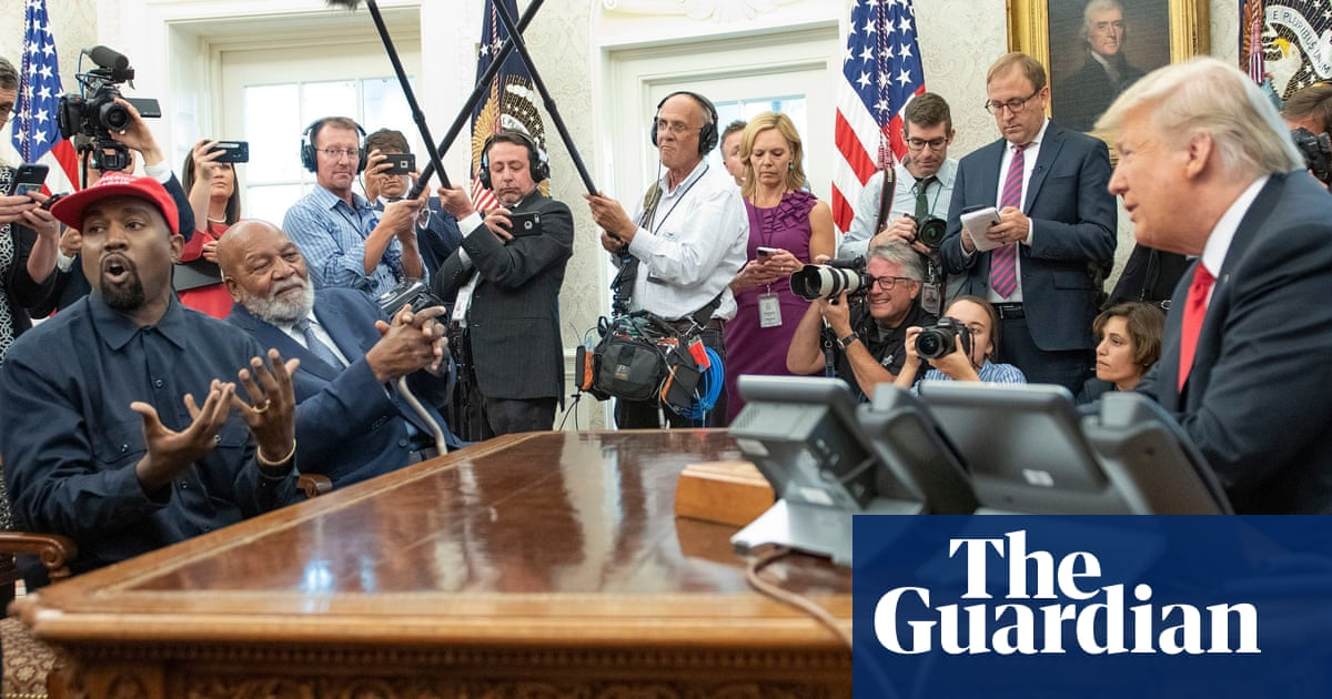 The most bizarre moments from Trump and Kanye's meeting at the Oval Office – v...