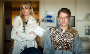 Katherine Kelly and Vicky Knight in Dirty God.