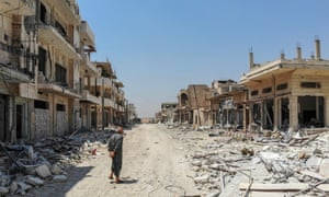 Khan Sheikhun, a town in Idlib province, at the beginning of this month.