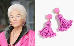 Pat Butcher-inspired beaded tassel earrings, £65, jcrew.com