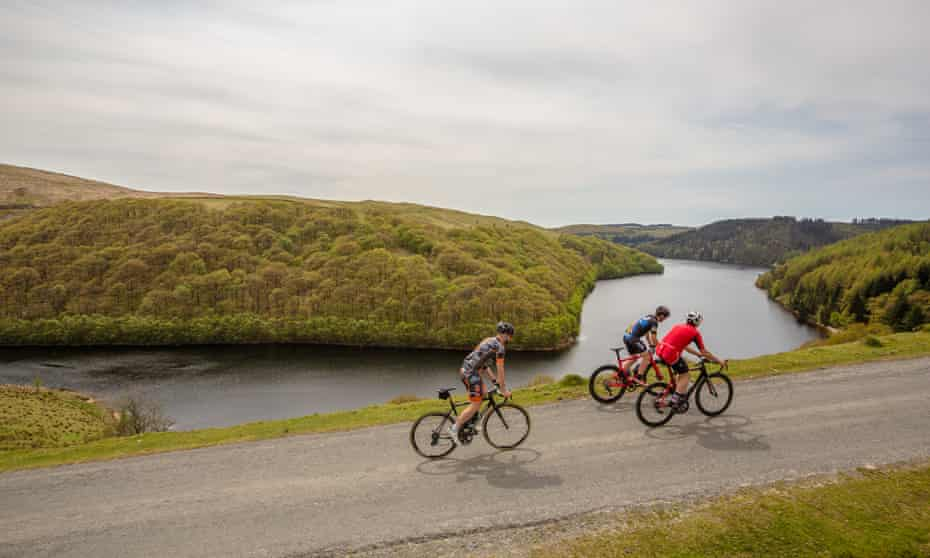 Quiet roads, wide views and plenty of hills greet cyclists on the Carmarthenshire routes.