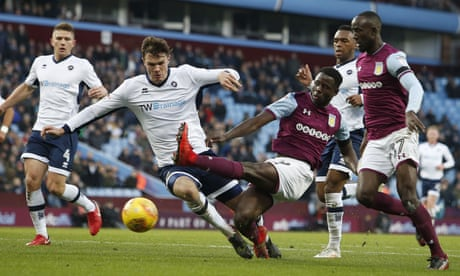 Sam Johnstone saves Aston Villa in goalless draw against Millwall