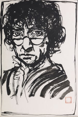brett whiteley self portrait in the studio