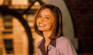 Calista Flockhart as Ally Mcbeal.